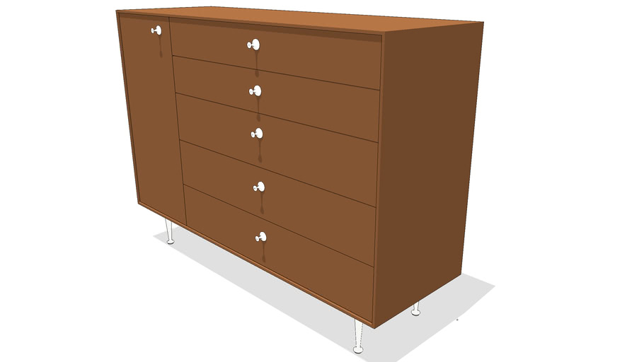 HMI_Nelson_Thin_Edge_Chest_5_Drawer_Left_Door