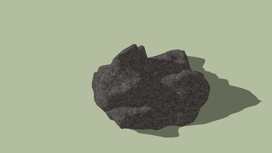 Modello roccia 3Ds Max