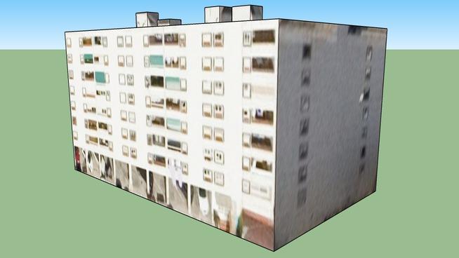 Building in Barcelona, Spain