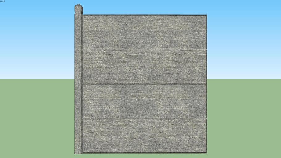 Panneau beton