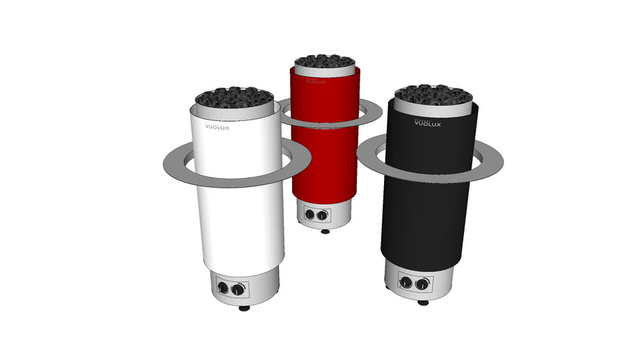 Vuolux Niili 8 kW sauna heater