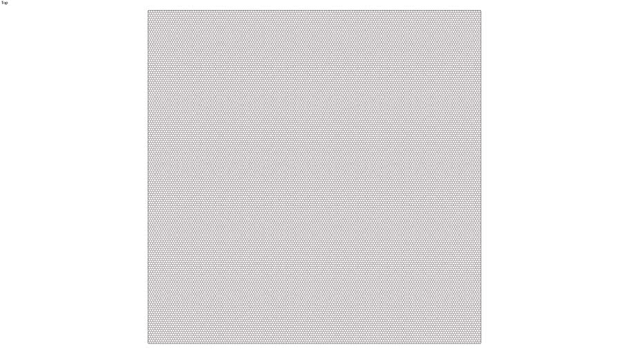 ROCKIT3D | Mesh Hexagon RAL3007