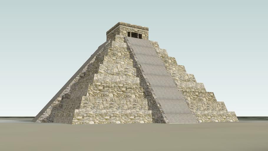 Chichen Itza ( Piramide de Kukulcan)