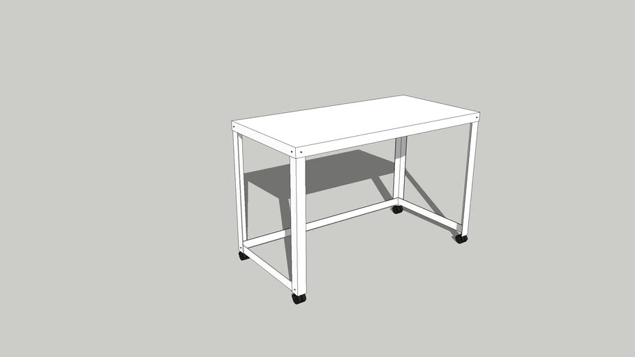 Simple Steel Desk
