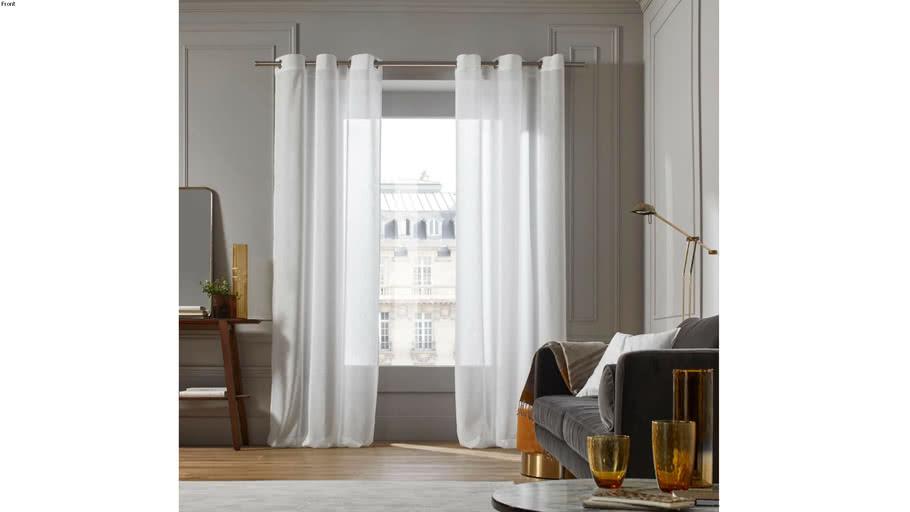 Eyelet voile curtain MILOS by  Madura White / 69€ - 149€ TTC
