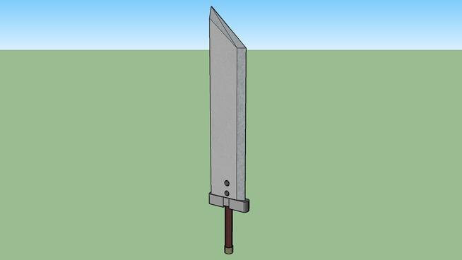 Buster Sword FFVII