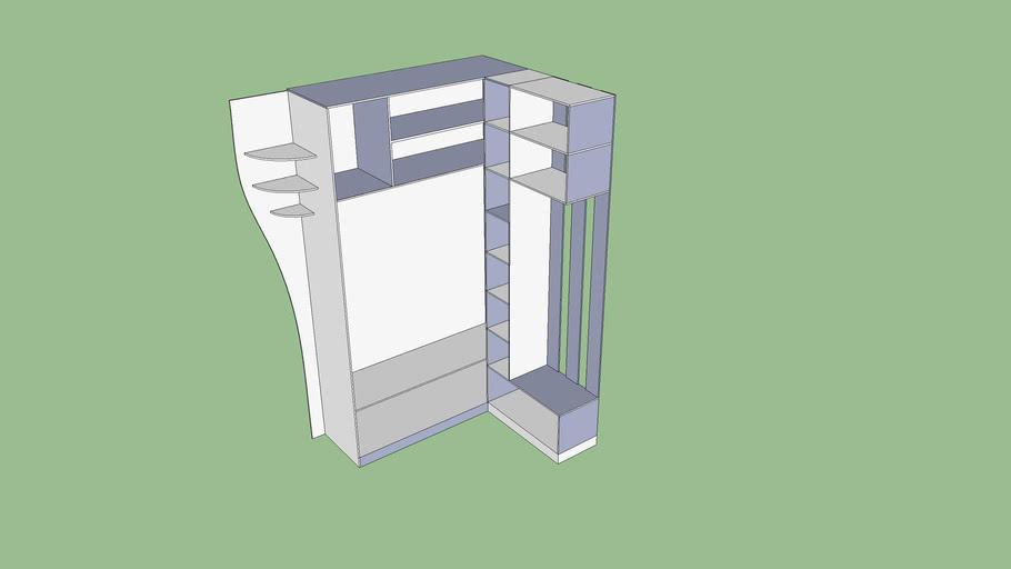 Компактный шкаф в коридор
