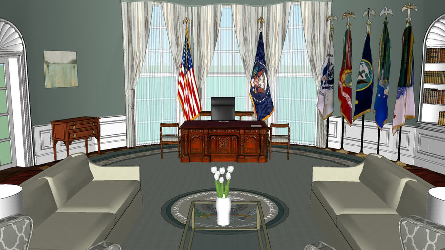 Claire Hale Underwood Oval Office ( fictional )