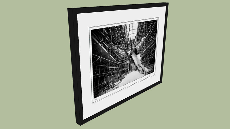 "BRODZIAK ""Ballerina #10"" 70x54 cm - Black&White, Photography, Image, Picture"