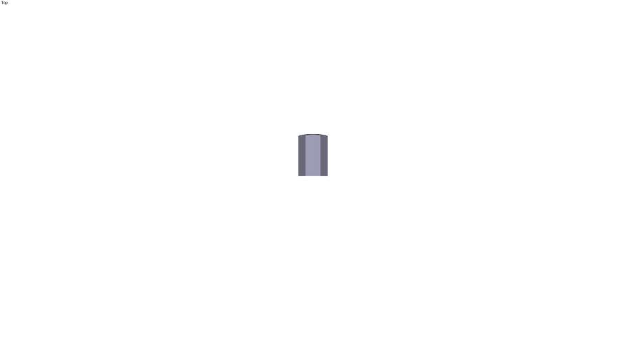 Raised female pillar support M12 x 32 mm