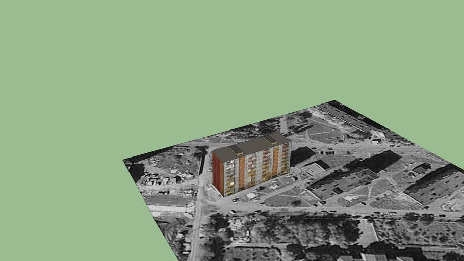 9-ти этажный дом, Репина, 66