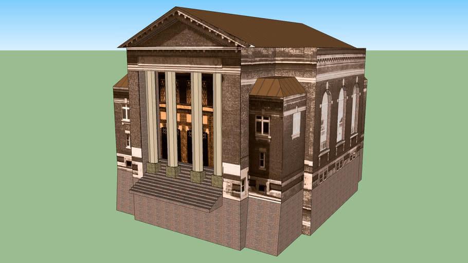 Webster Hall/Rauner Library, circa 1900